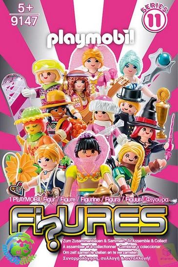 sobres playmobil serie 11 chicas