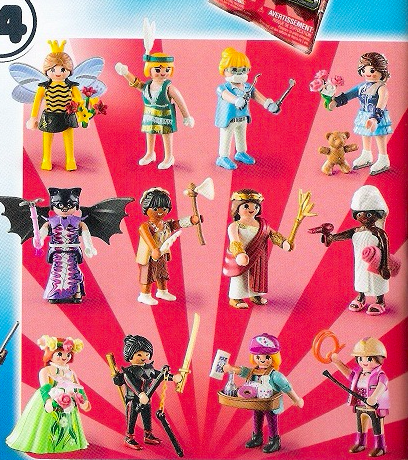 serie 14 chicas playmobil